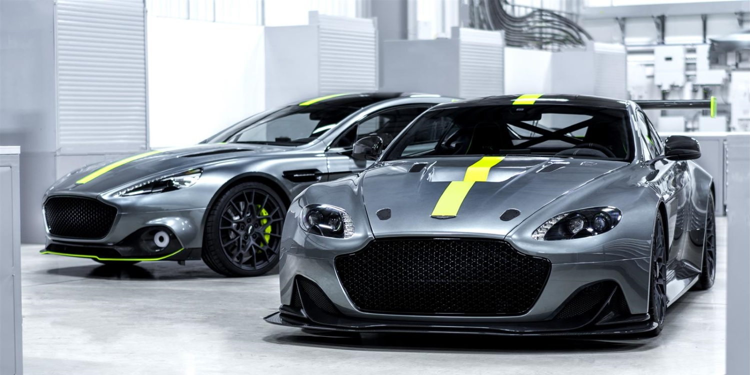 Aston Martin launches AMR. Photo by: Aston Martin Lagonda Limited