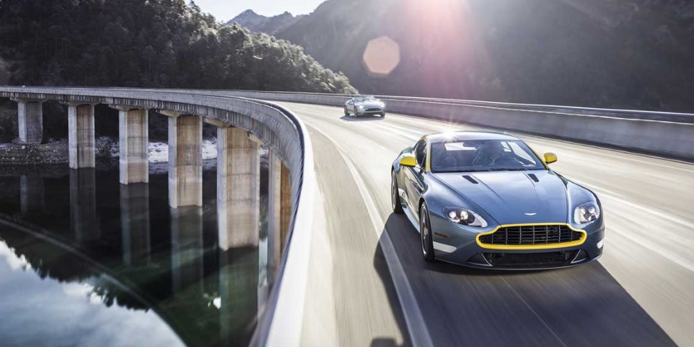 2014 Aston Martin V8 Vantage GT. Photo by: Aston Martin Lagonda Ltd