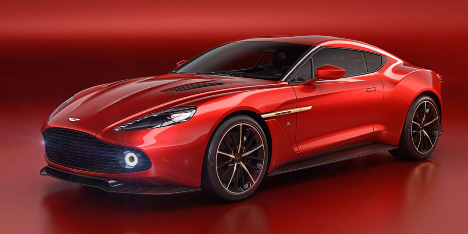 Aston Martin Vanquish Zagato Concept. Photo by: Aston Martin Lagonda