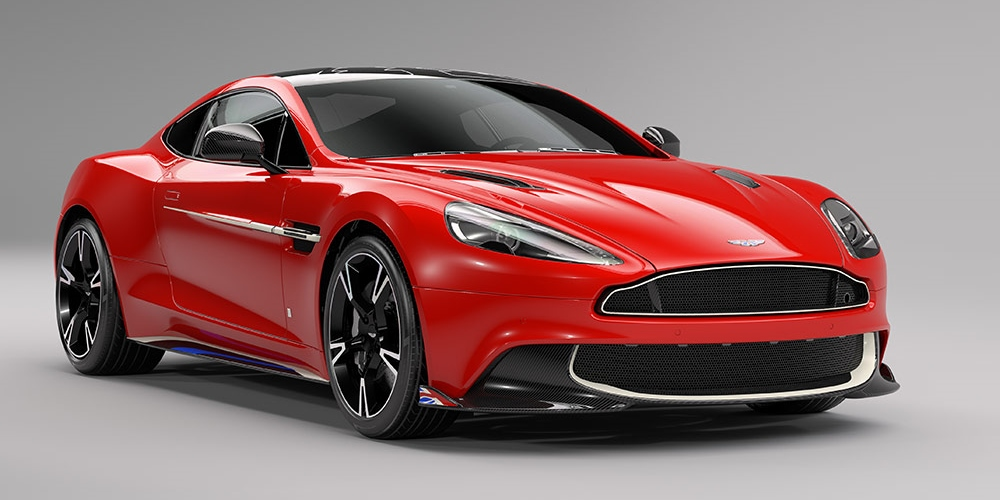 Q by Aston Martin Vanquish S Red Arrows edition. Photo by: Aston Martin Lagonda Limited