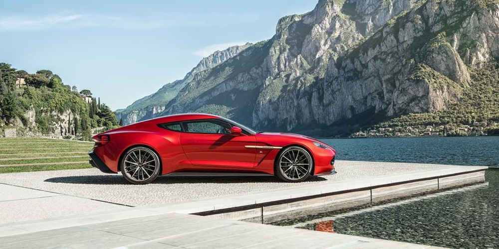 Aston Martin to build the Vanquish Zagato Coupe. Photo by: Aston Martin Lagonda Limited
