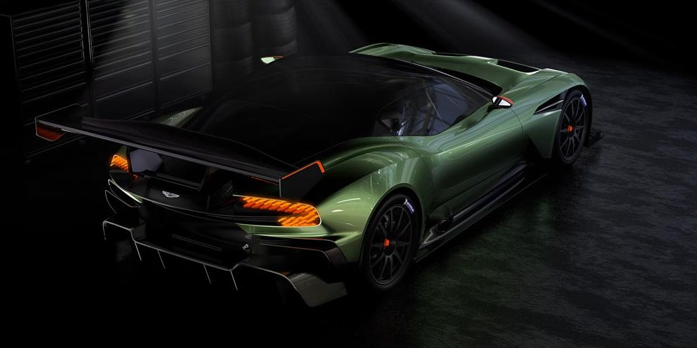 Aston Martin Vulcan. Photo by: Aston Martin Lagonda Ltd