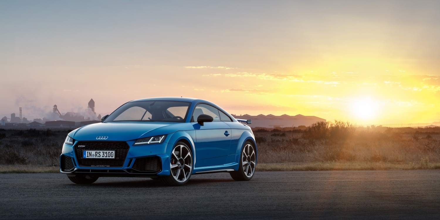 2019 Audi TT RS Coupé. Photo by: Audi AG