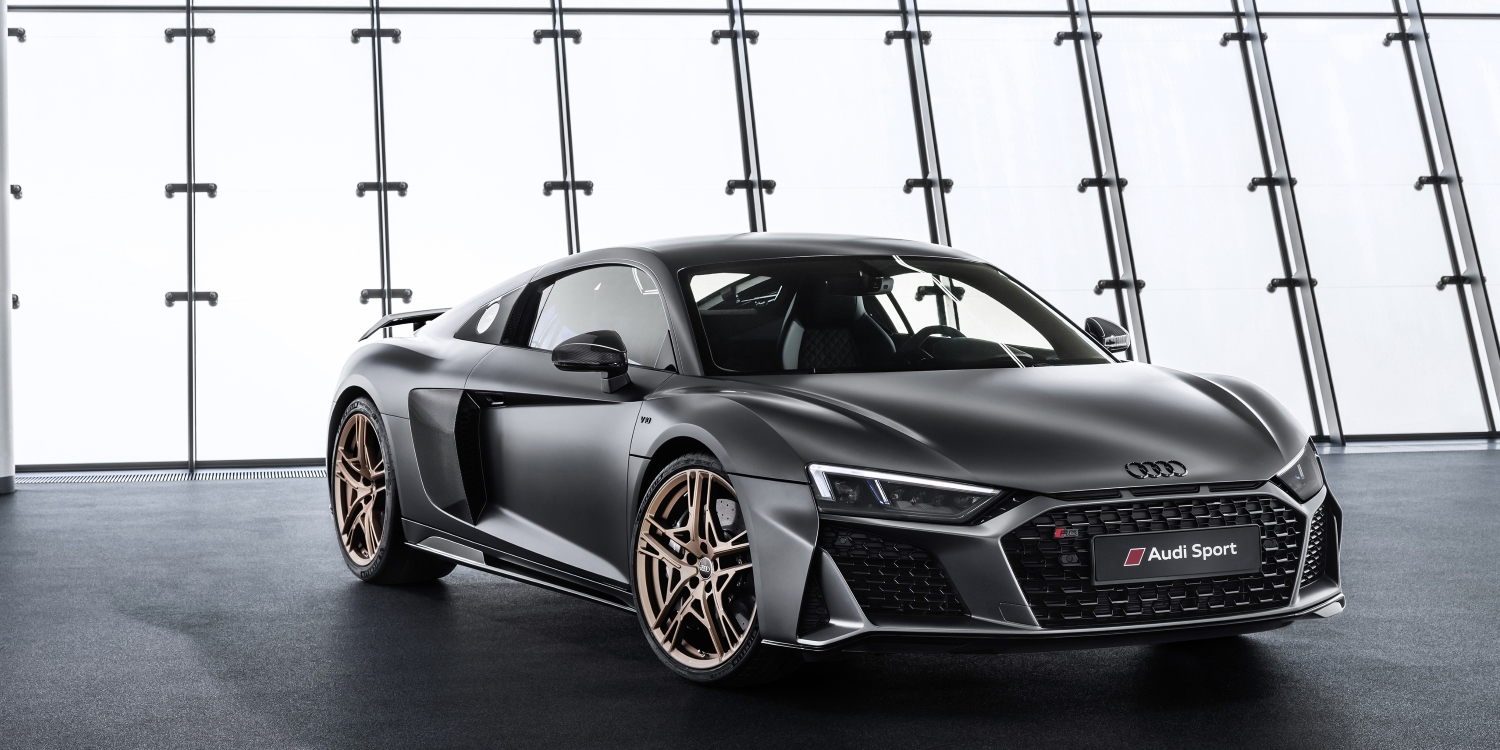 The Audi R8 V10 Decennium. Photo by: Audi AG