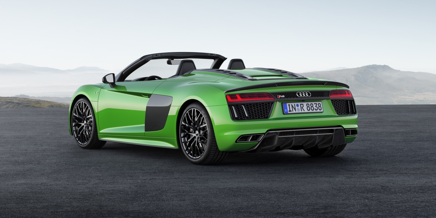 Audi R8 Spyder V10 plus. Photo by: Audi AG