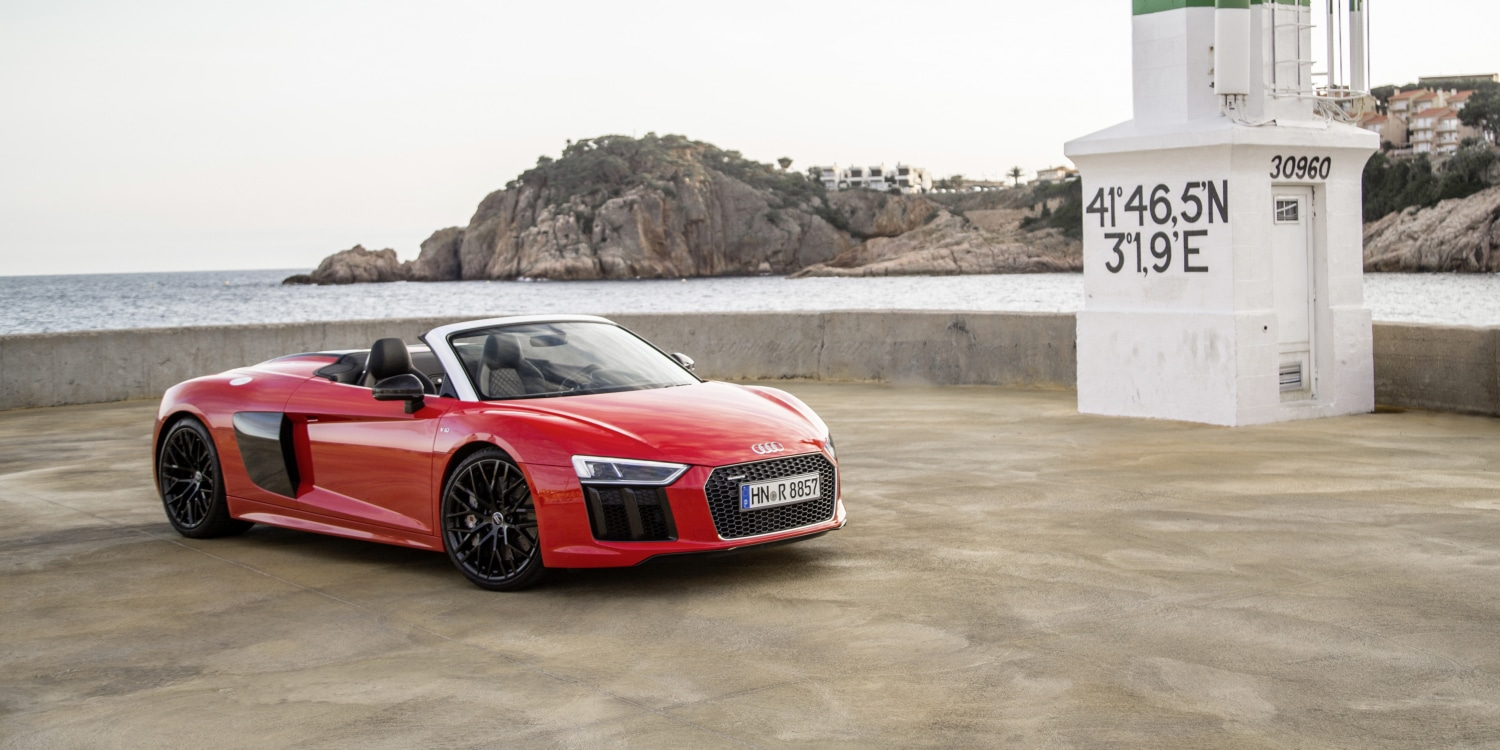 Audi R8 Spyder V10. Photo by: Audi AG