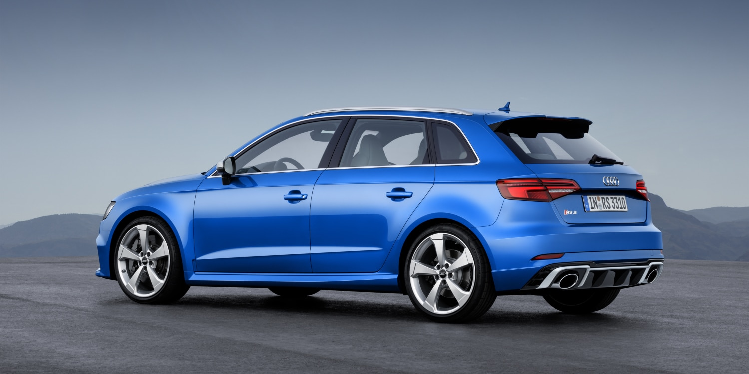 Audi RS 3 Sportback. Photo by:
