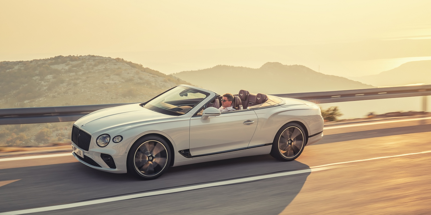 The all-new Bentley Continental GT Convertible. Photo by: Bentley Motors