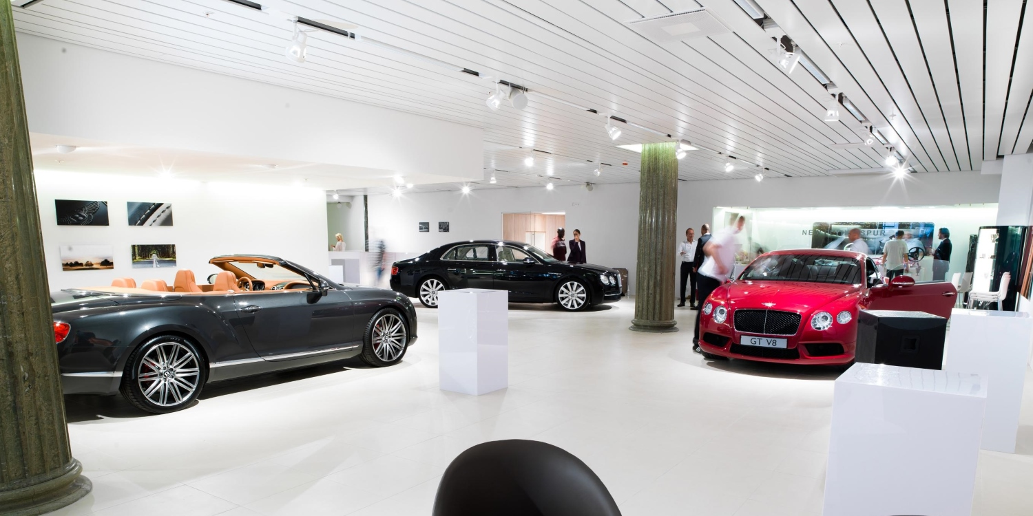 Bentley opens new dealership in Stockholm. Photo by: Bentley Motors