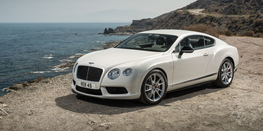 Continental GT V8 S Convertible. Photo by: Bentley Motors
