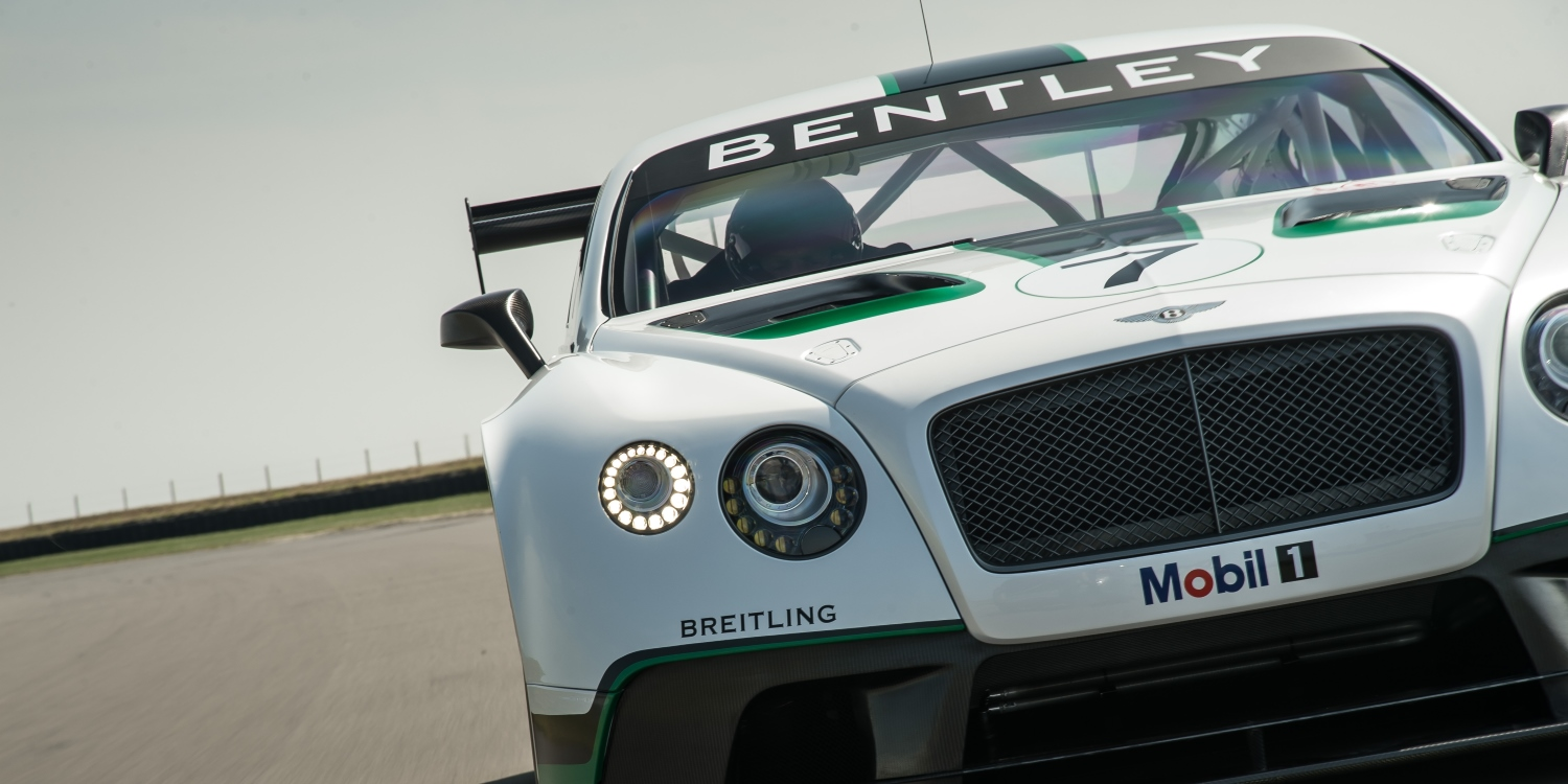 Bentley Continental GT3 - Luxury on Diet