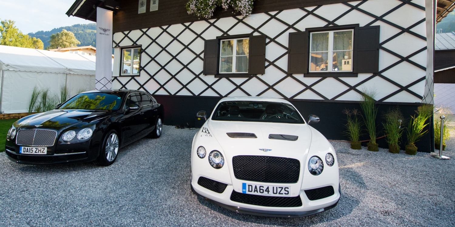 Bentley opens first mountain lodge in Kitzbühel. Photo by: Bentley Motors