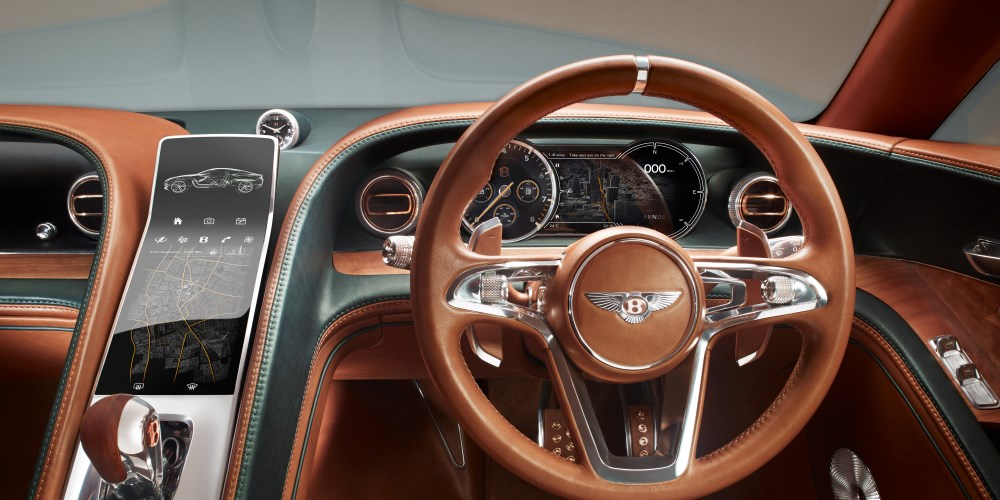Bentley EXP 10 Speed 6 Concept. Photo by: Bentley Motors