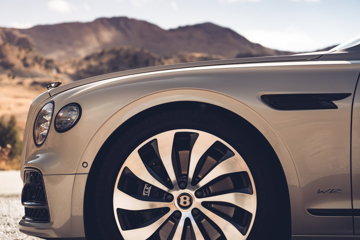 Bentley Flying Spur Blackline Wheels