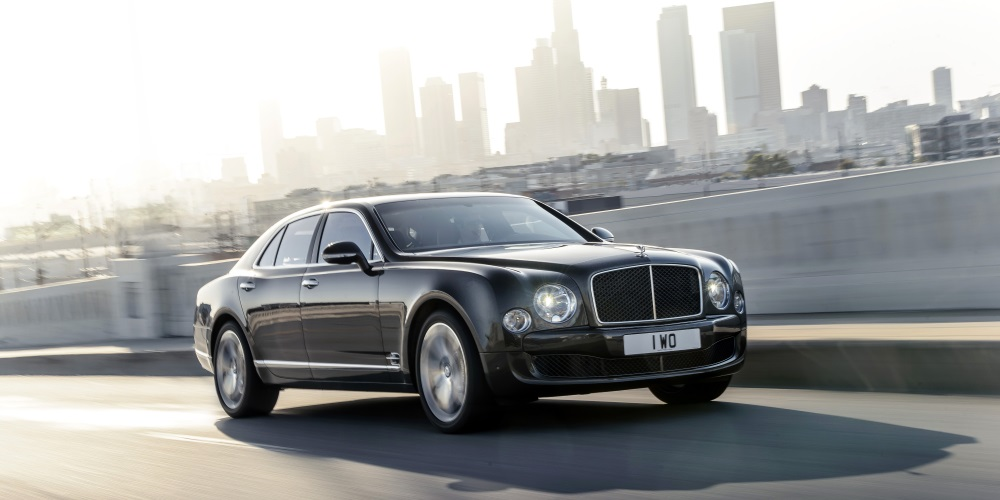 Bentley Mulsanne Speed. Photo by: Bentley Motors Ltd