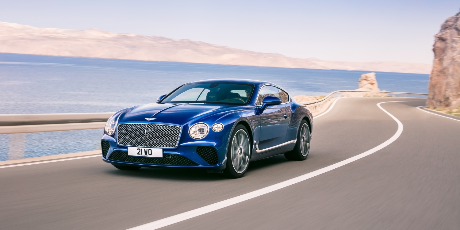 The all-new Bentley Continental GT. Photo by: