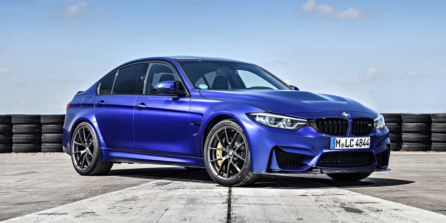 The new BMW M3 CS. Photo by: BMW