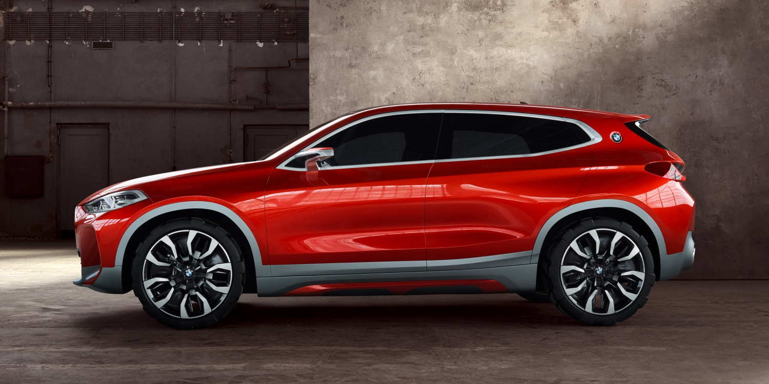 BMW Concept X2. Photo by: BMW Group