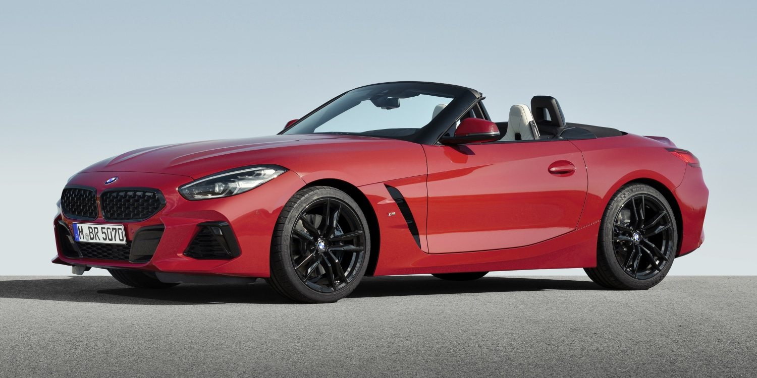 The New Bmw Z4 Roadster Cars Evlear