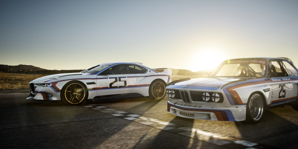 BMW 3.0 CSL Hommage R. Photo by: BMW Group