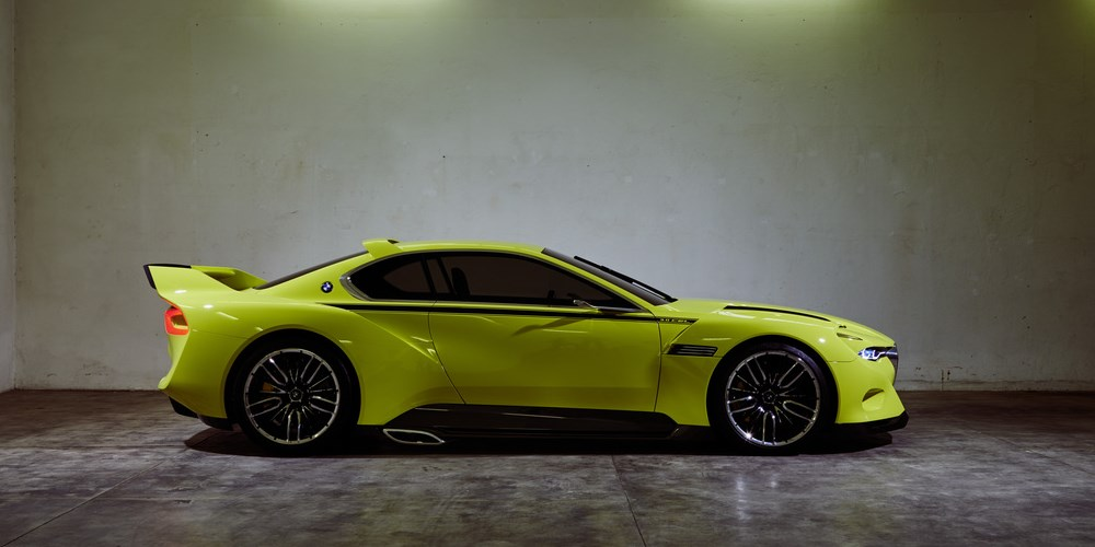 BMW 3.0 CSL Hommage. Photo by: BMW Group