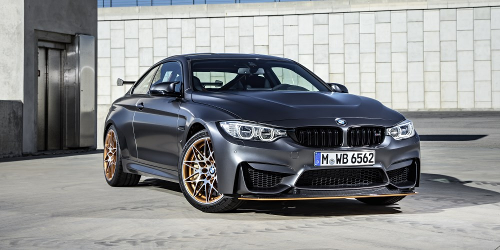 The new BMW M4 GTS. Photo by: BMW M GmbH