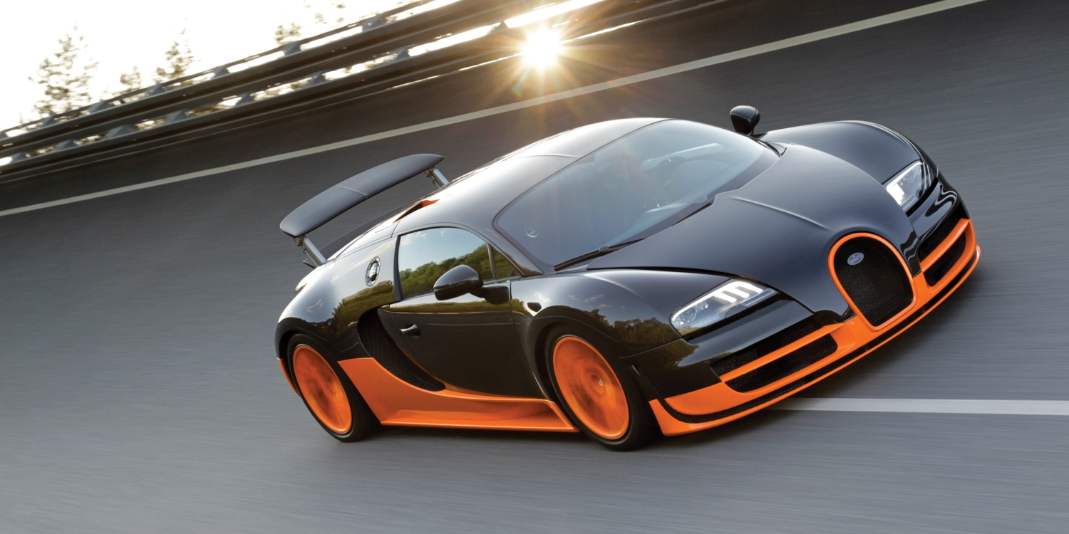 Bugatti Veyron 16.4 Super Sport. Photo by: Bugatti Automobiles