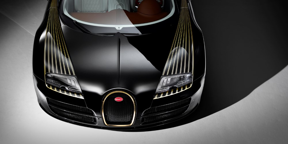 Bugatti 16/4 Veyron Grand Sport Vitesse Black Bess. Photo by: Bugatti Automobiles
