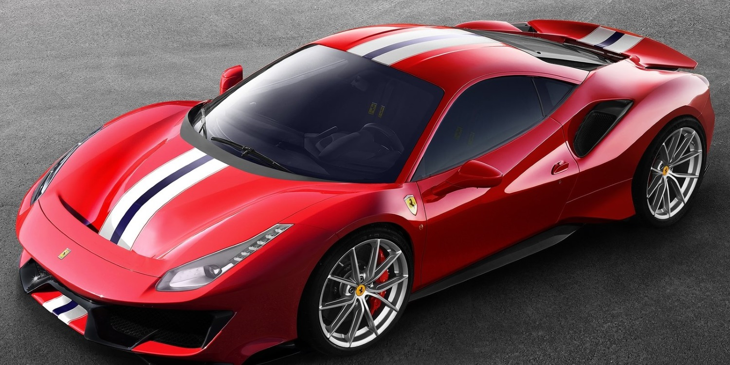 Ferrari 488 Pista. Photo by: Ferrari S.p.A