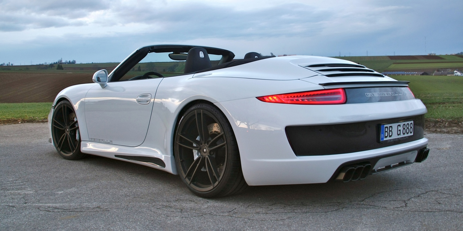 Gemballa GT Cabrio. Photo by: Gemballa