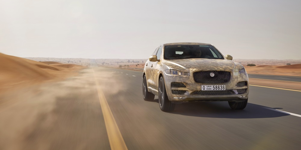 Jaguar F-PACE Tested to Extremes. Photo by: Jaguar Land Rover