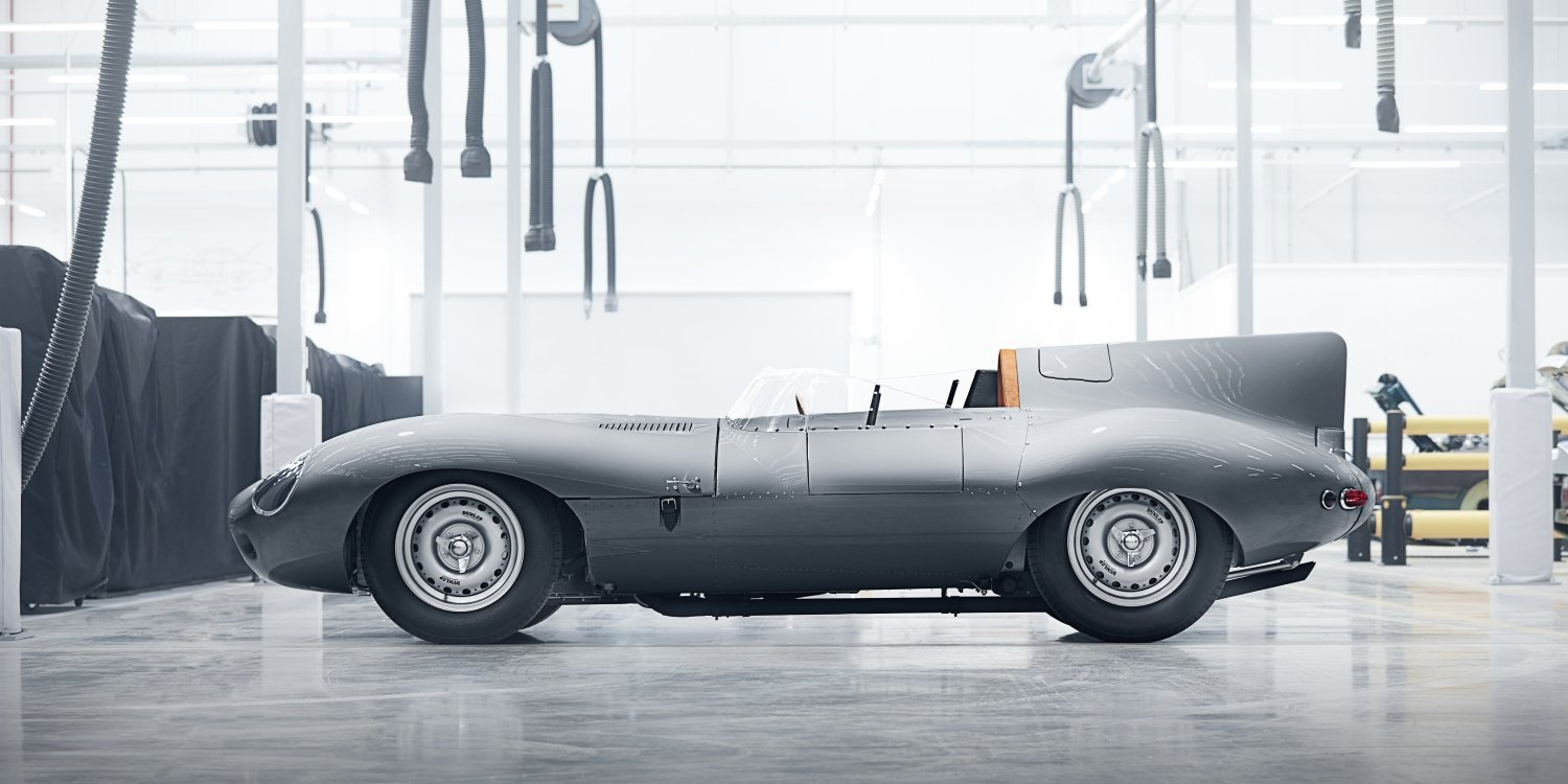 The rebirth of the legendary Jaguar D-type. Photo by: Jaguar Land Rover