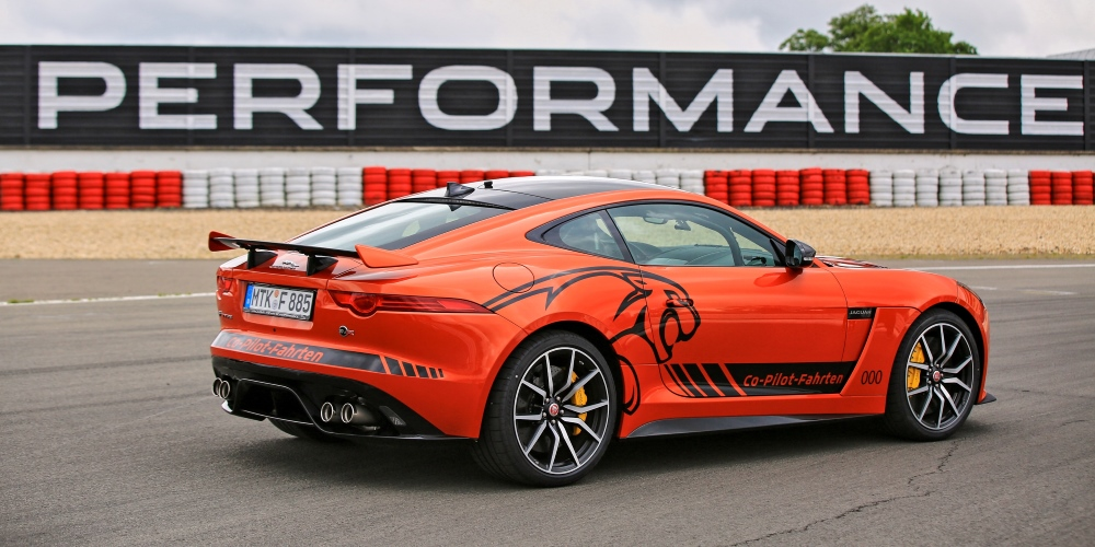 Jaguar launches Co-Pilot Nordschleife. Photo by: Jaguar Land Rover