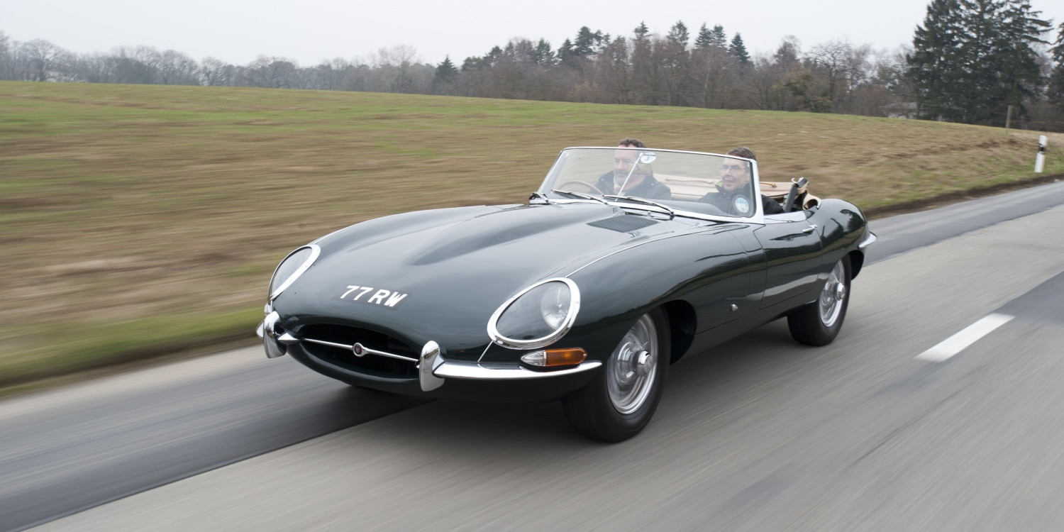 Jaguar XE Heritage E-type 1961. Photo by: Jaguar Land Rover
