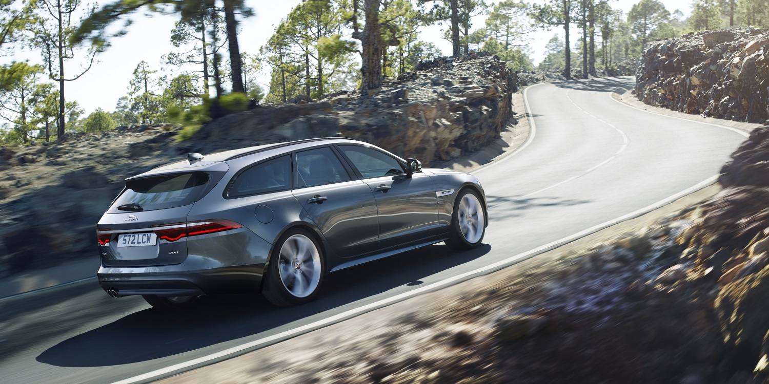 The New Jaguar XF Sportbrake. Photo by: Jaguar Land Rover