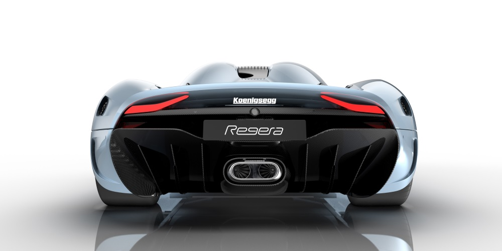 Koenigsegg Regera. Photo by: Koenigsegg Automotive AB
