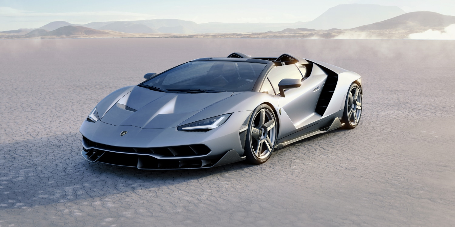 Lamborghini Centenario Roadster. Photo by: Automobili Lamborghini S.p.A.