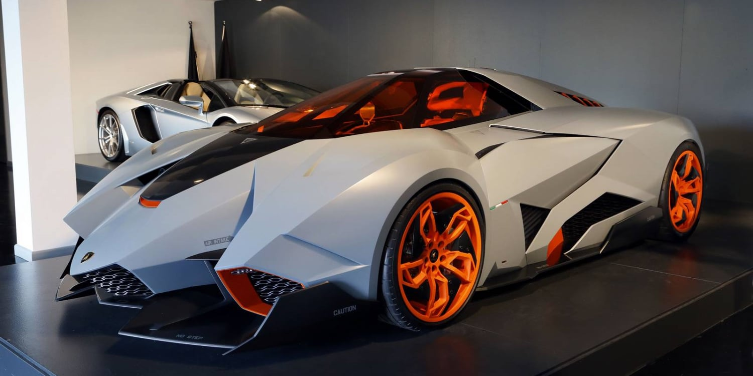 Lamborghini Egoista. Photo by: Automobili Lamborghini