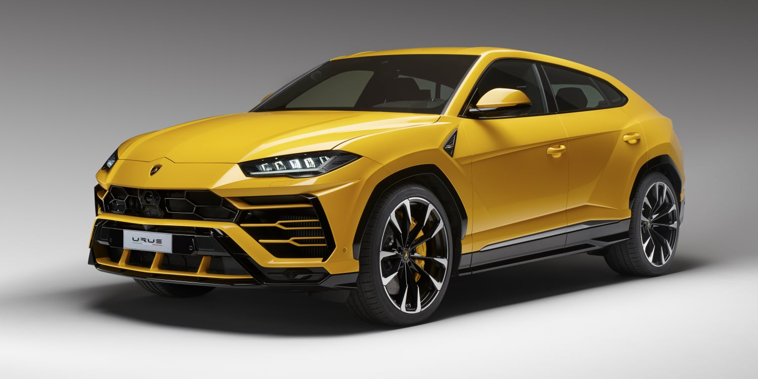 Lamborghini Urus. Photo by: