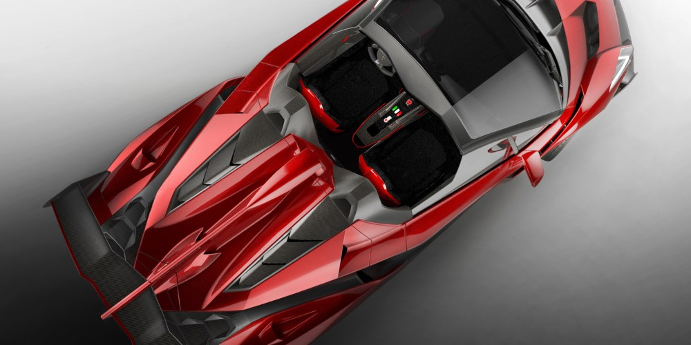 2014 Lamborghini Veneno Roadster. Photo by: Automobili Lamborghini