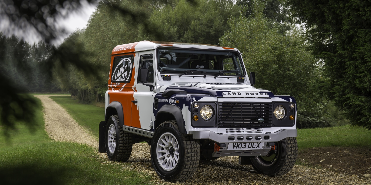 Land Rover acquires Bowler. Photo by: Jaguar Land Rover