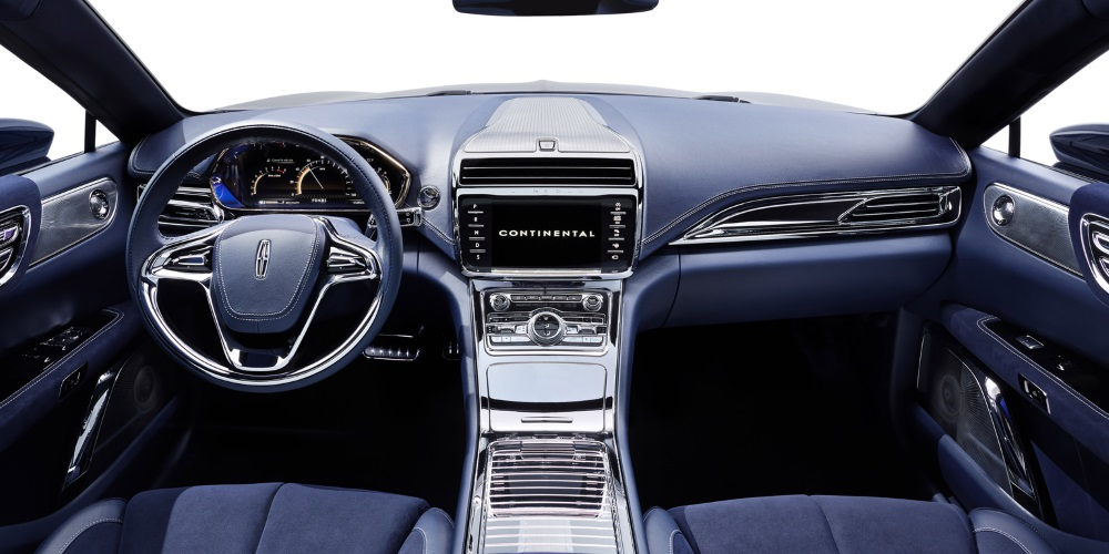 Lincoln Continental Concept. Photo by: Lincoln Motor Company