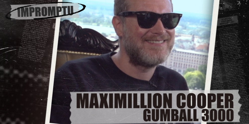 Interview with Maximillion Cooper. Photo by: Dukascopy TV