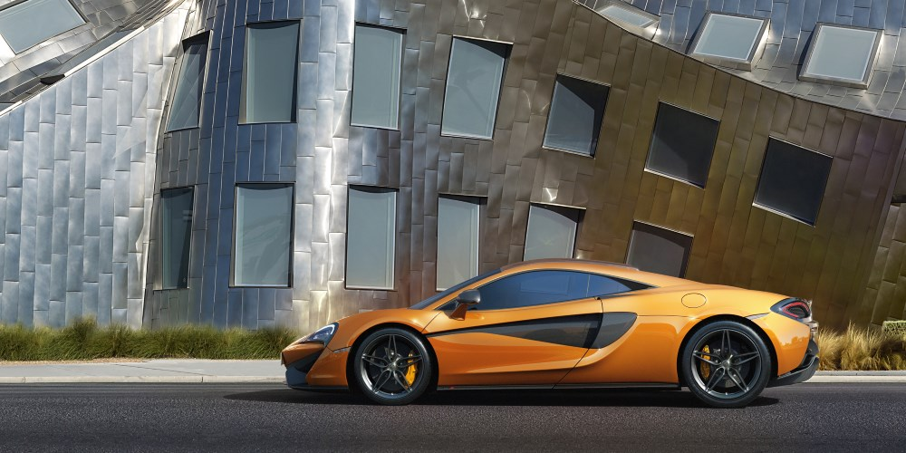 McLaren 570S Coupe. Photo by: McLaren Automotive Limited