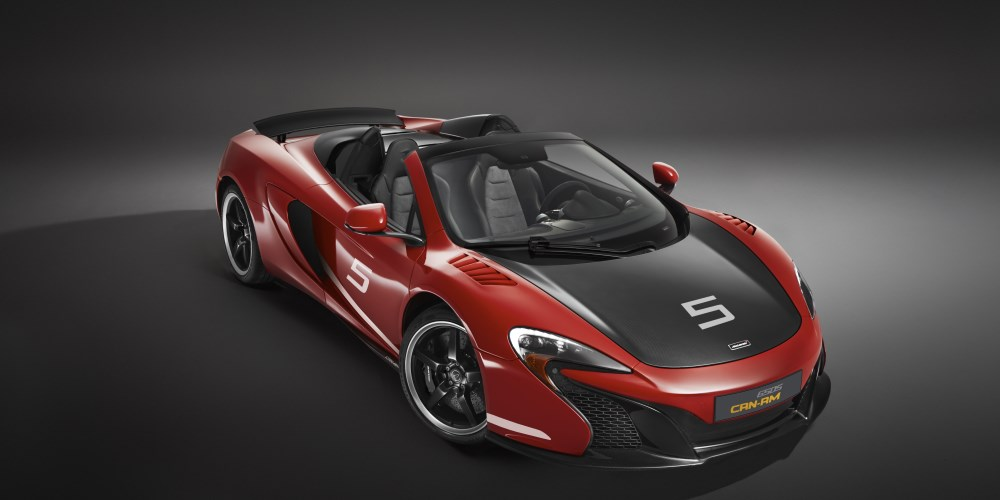 McLaren celebrates 50 years of historic US race series with limited run 650s Can-Am. Photo by: McLaren Automotive Limited