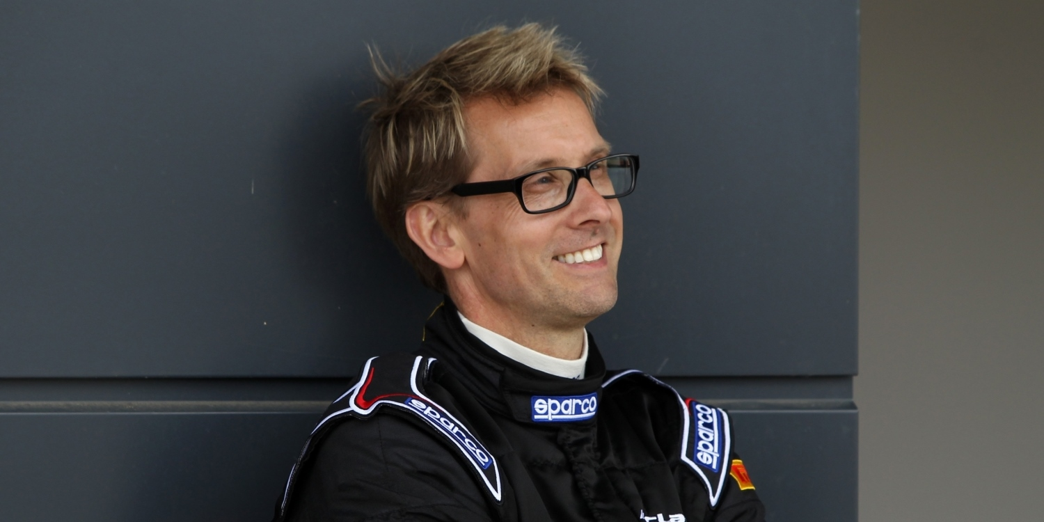 Kenny Bräck - Chief Test Driver at McLaren Automotive. Photo by: McLaren Automotive