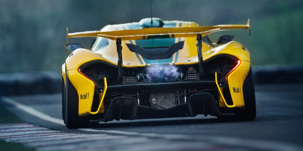 McLaren P1 GTR. Photo by: McLaren Automotive Ltd