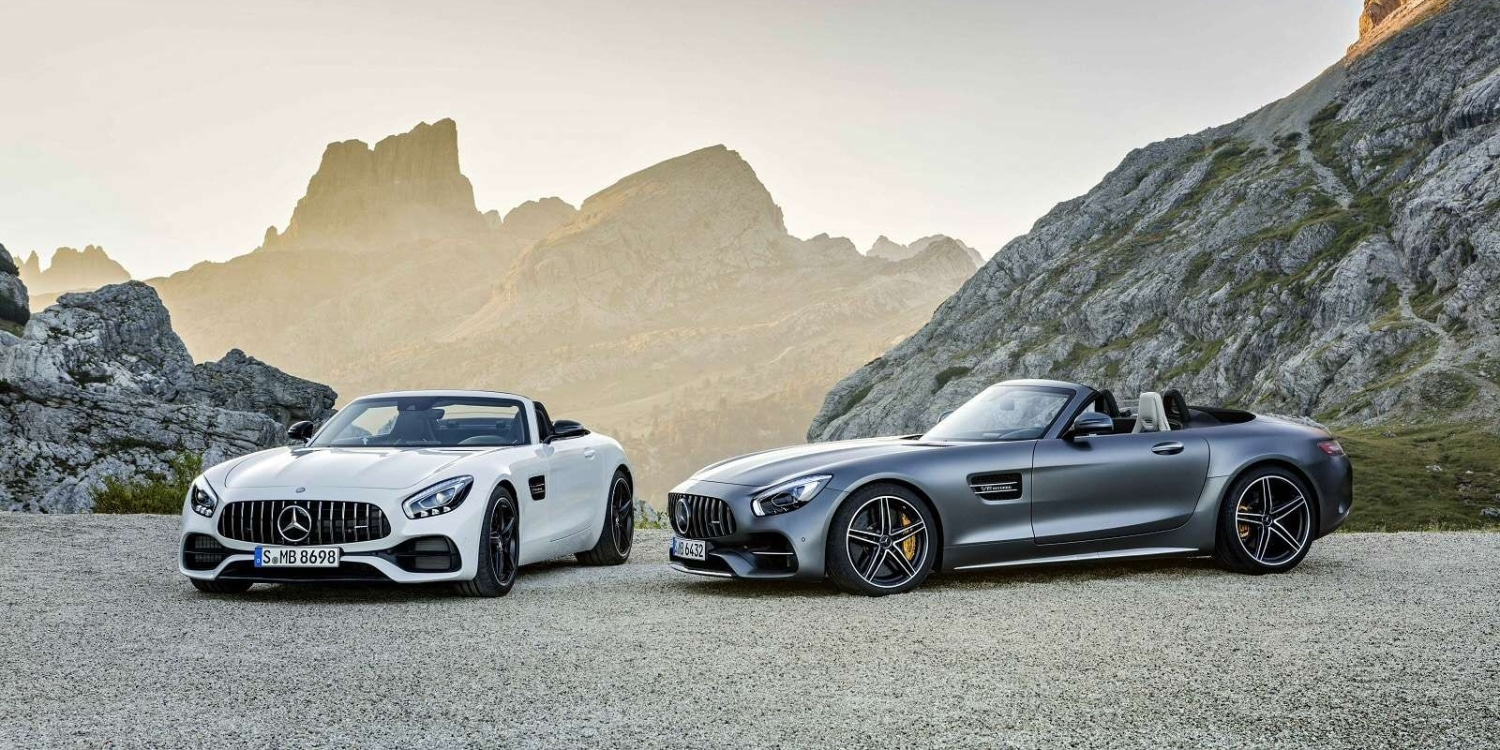 Mercedes-AMG GT Roadsters. Photo by: Mercedes‑AMG GmbH