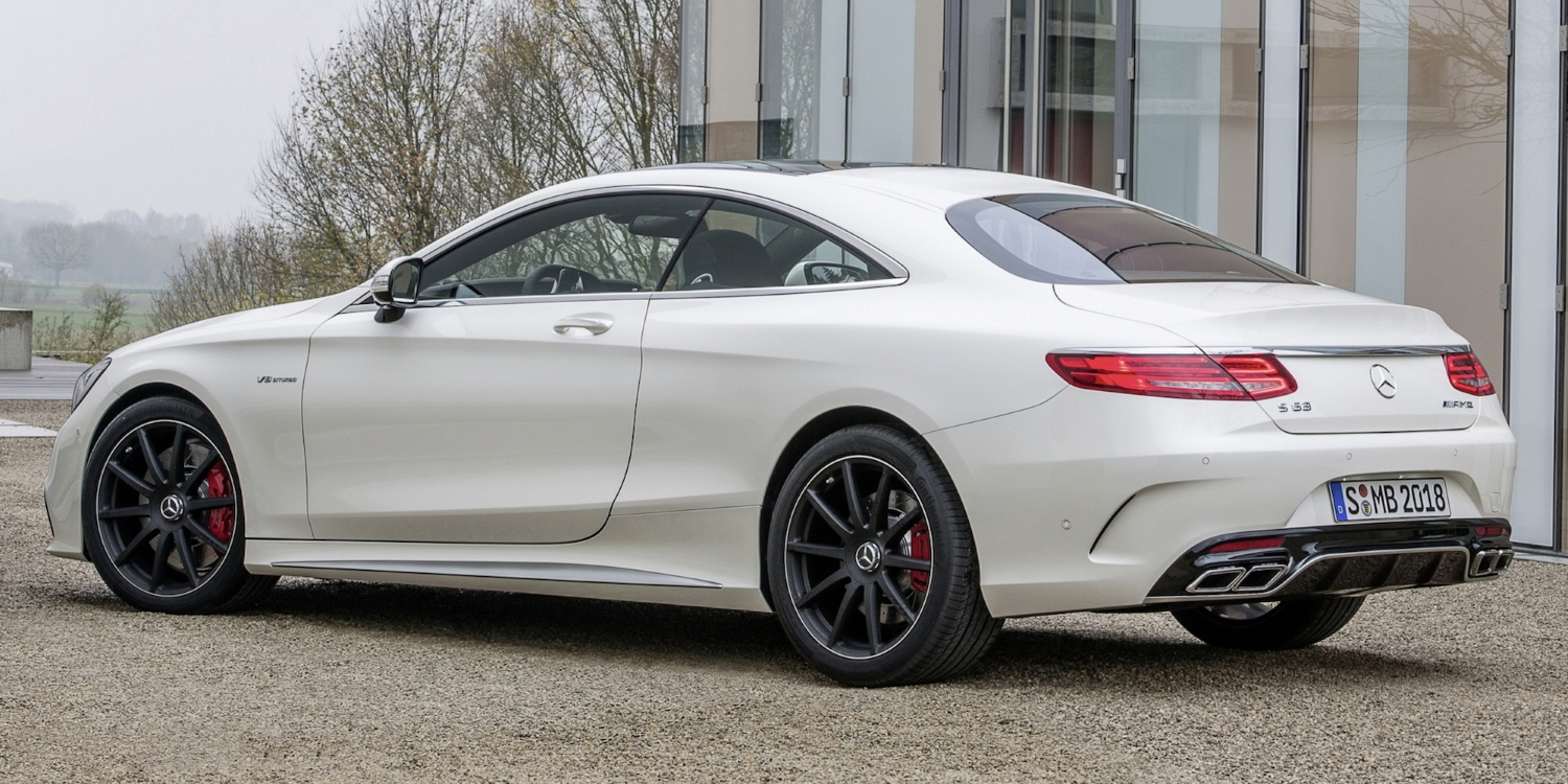 2014 Mercedes-Benz S 63 AMG Coupé. Photo by: Mercedes-AMG GmbH