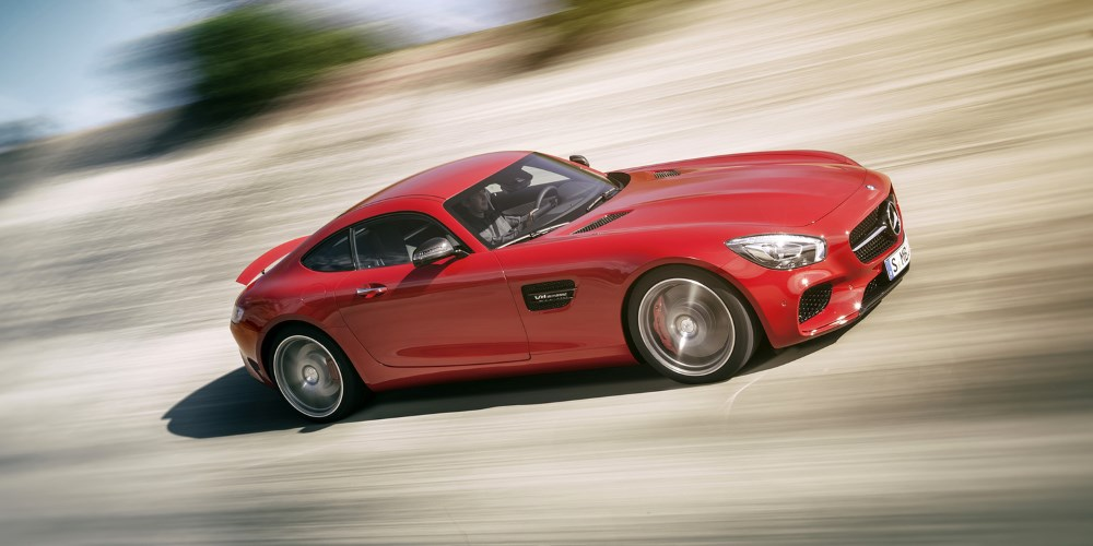 The Mercedes-AMG GT. Photo by: Daimler AG
